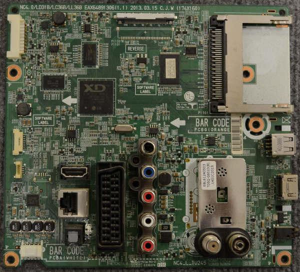 Main Board EAX64891306 (1.1) EBR76922720 от телевизора LG 42LA615V