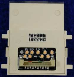 Power Button Board EBR77970403 от телевизора LG 47LB720V-ZG