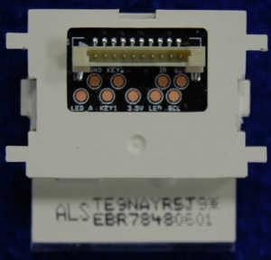 Button Board EBR78480601 от телевизора LG 47LB675V-ZA