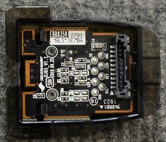 Power Button Board EBR83592701 от LG 32LM550BPLB