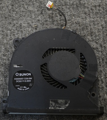 Вентилятор SUNON EG50050S1-C230-S99 DC5V 2.25W от Lenovo IdeaPad S500 Touch