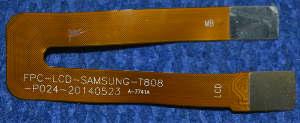 Шлейф FPC-LCD-Samsung-T808-P024-20140523 от Wexler Tab 8iQ