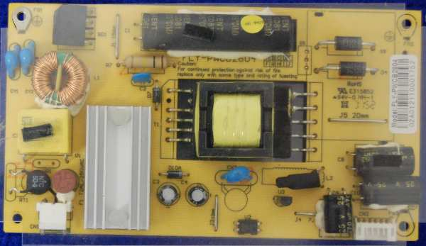 Power Supply Board Fly-PWCB2604 от телевизора Erisson 15LEN60