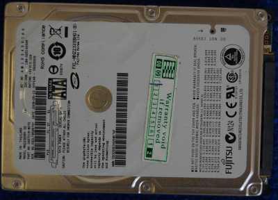 Жесткий диск 320Gb Fujitsu 2,5''