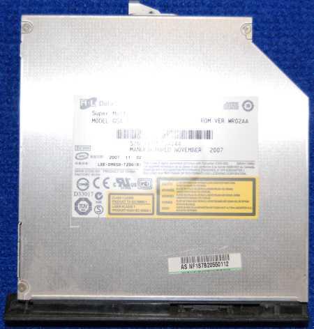 DVD-RW Drive GSA-T20N от ноутбука ASUS F5N