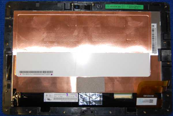 Дисплей HSD101PWW1 в сборе с тачскрином от планшета Asus TF300TG