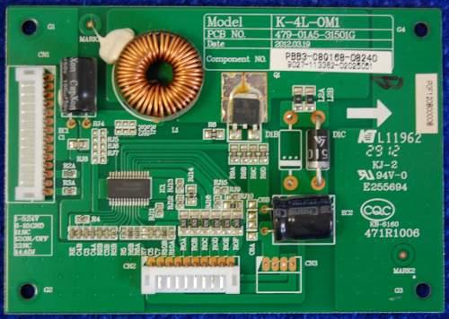 LED Drive Board K-4L-OM1 479-01A5-31501G
