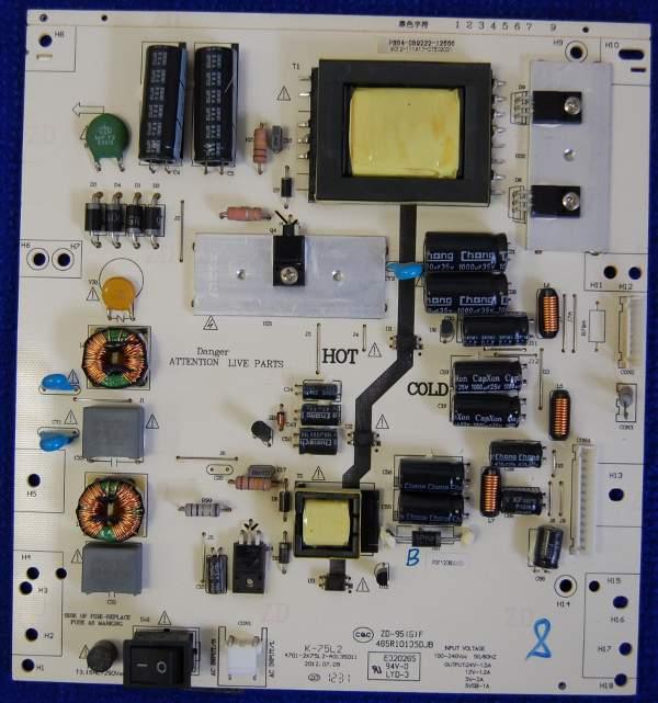 Power Supply Board K-75L2 4701-2K75L2-A3135D11
