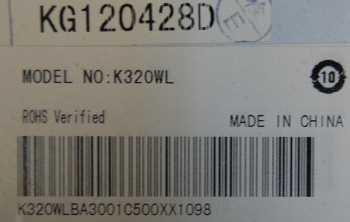 LCD K320WL