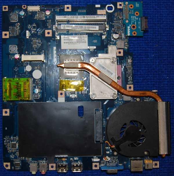 Материнская плата KAWF0 LA-4851P от ноутбука eMachines E525