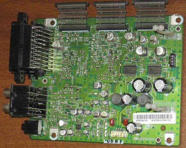 Input board QPWBFD604WJN4 (Плата входов-выходов) от телевизора SHARP LC37RA1RU