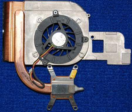 Система охлаждения с вентилятором KFB0505HHA от ноутбука ASUS Z99H A8JP