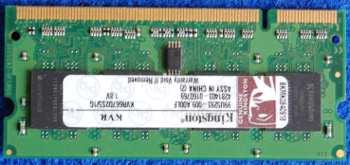 Модуль памяти Kingston KVR667D2S5/1G