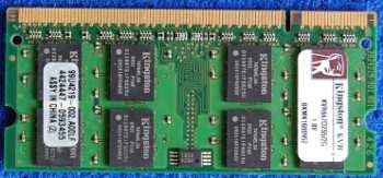 Модуль памяти Kingston KVR667D2S5/2G