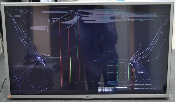 телевизор LG 32LJ600U б/у