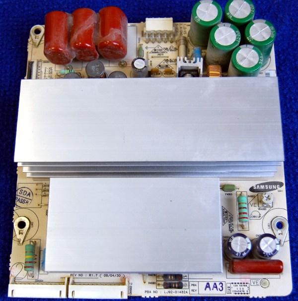 X-Main Board LJ41-05076A (LJ92-01482A) от телевизора Samsung PS42A410C3