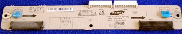 XB Board LJ41-05410A (LJ92-01527A) от телевизора Samsung PS42A410C3