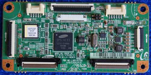 Main Logic CTRL Board LJ41-08387A от телевизора Samsung PS50C450B1W