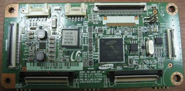 Main Logic CTRL Board LJ41-08392A (LJ92-01708A) от телевизора Samsung