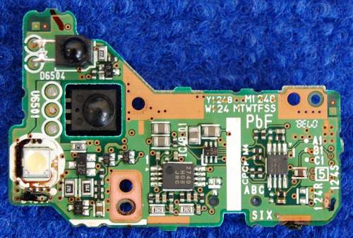Board LSEP8391 (LSJB8391-2) от Panasonic SDR-H250