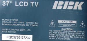 BBK LT3709S