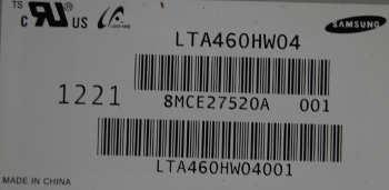 матрица LTA460HW04