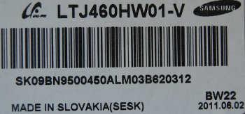 LTJ460HW01-V