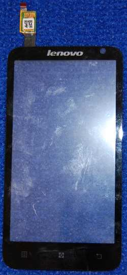 Сенсорное стекло (тачскрин) для Lenovo S720