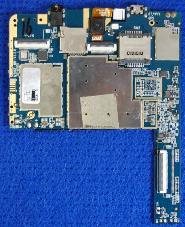 Основная плата M706E-MB-V2.2.0 от планшета Digma HT7070MG