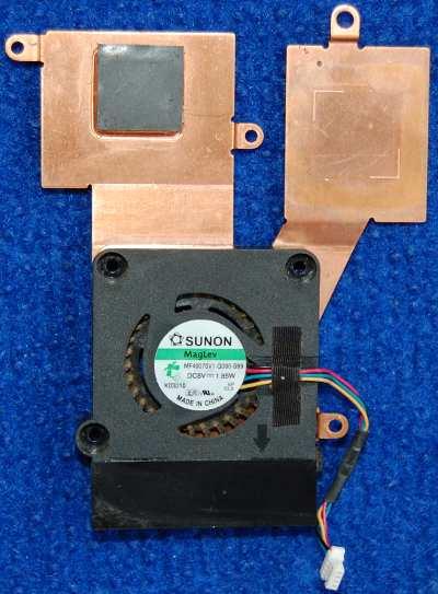 Система охлаждения MF40070V1-Q000-S99 от ноутбука Asus Eee PC 1001HA, 1005HA, 1008HA