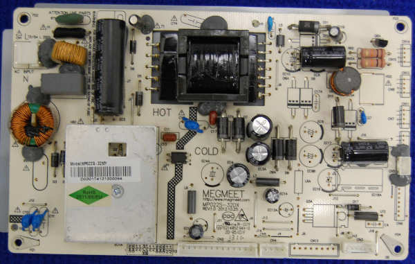 Power Supply Board MP022S-32DX (MP022S-32MY) от телевизора DNS M32DM8