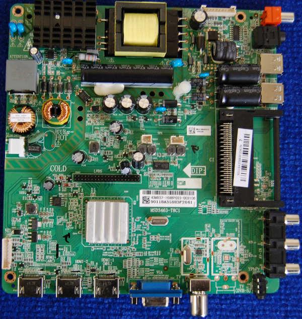 Main Board MSD3463-T8C1 от телевизора Philips 43PFT4001/60