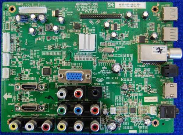 Main Board MST6M182VG-T9B 471-01A2-61901G от телевизора Hyundai H-LED32V11