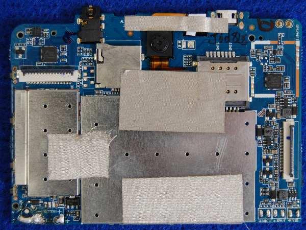 Основная плата AL_MT8312CW_DD_V1.0 (8312CW-706S-V1.0 1+8) от планшета Oysters T72HA 3G