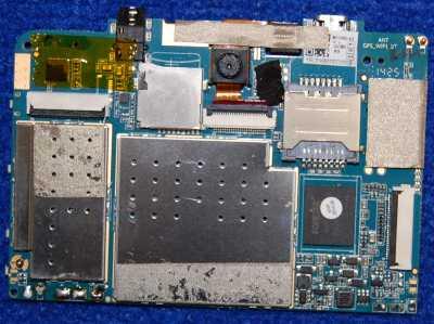 Основная плата MY706D V2 от планшета Supra M727G