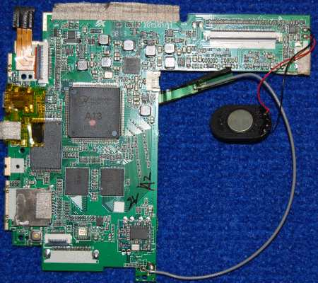 Основная плата A86 MB V4.0 от планшета Prestigio PMP3670B Multipad