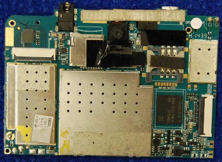 Основная плата MR706ZD V3 от планшета Prestigio Multipad Wize RMT3038_3G