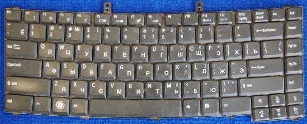 Клавиатура 9JN8882L0R NSK-AGL0R от ноутбука eMachines D620