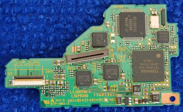 Board NTP-NMI-T (LSJB8390-1 LSEP8390) от Panasonic SDR-H250
