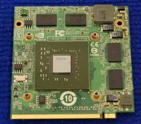 Видеокарта NVIDIA P407 от ноутбука Acer Aspire 5520