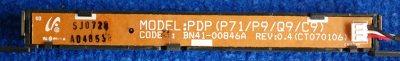 Button Board BN41-00846A PDP P71/P9/Q9/C9 от телевизора Samsung PS-42C91HR
