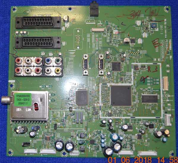 Main Board PE0484A-1 V28A000628G1 DS-7209 от Toshiba 42AV500PR