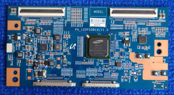 T-con Board PH_120PSQBC4LV1.0 от телевизора Philips 46PFL5537T/60, 40PFL5507T/60