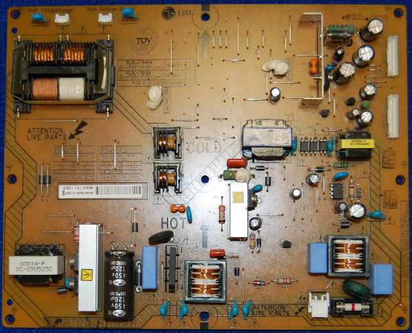 Power Supply Board PLHL-T845A от телевизора Philps 37PFL5604H/60