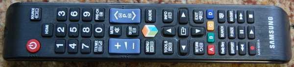 Пульт ДУ (Remote control) от телевизора Samsung PS42C433A4WXRU