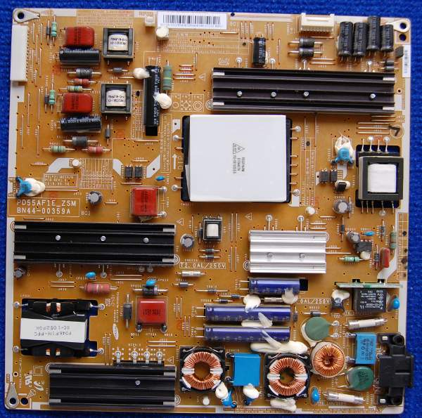 Power Supply Board BN44-00359A PD55AF1E_ZSM от телевизора Samsung UE55C6000RW