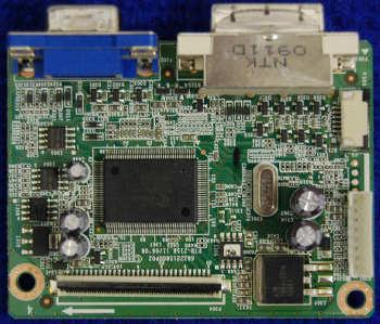 Main Board PTB-2158 от монитора Acer V233H