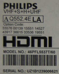 Philips 46PFL5537T/60