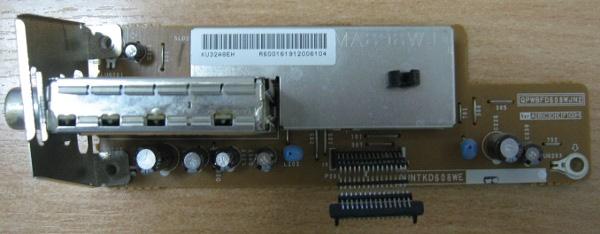 Tuner Board QPWBFD608WJN2 DUNTKD608WE от телевизора Sharp LC 32GA8RU