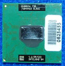 Процессор Intel 1.6/2M/533 RH80536 730 SL86G